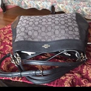Coach Bags - Coach  Lexy  signature Shoulder Bag